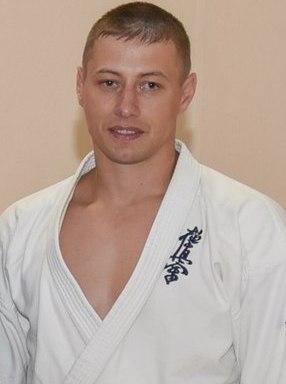 Алексей Михалев, детский тренер по карате, мастер спорта РФ